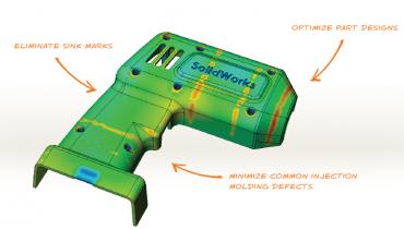 SolidWorks Plastics 2013