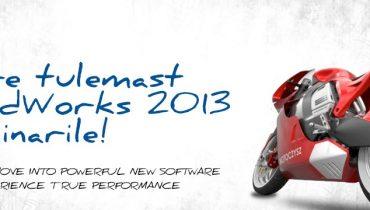 Viimane võimalus registreeruda SolidWorks 2013 seminarile!