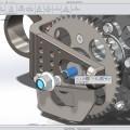 SolidWorks 2014 lekitused - takistab pöörlemise kontsentrilisel koostuseosel