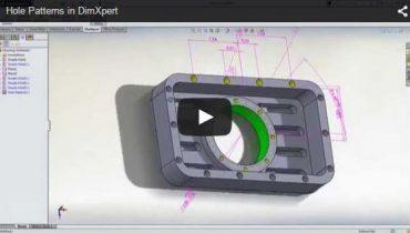 Avade mõõtmestamine 3D mudelil DimXpertiga