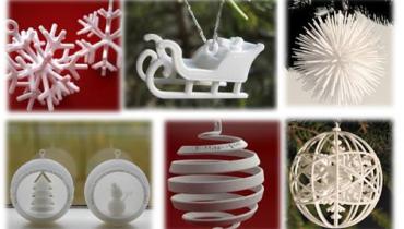 Jõulukaunistused 3D printerist