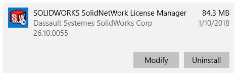 modify install