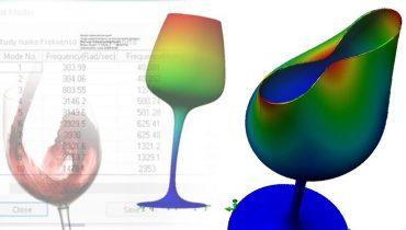 Kui kõrge sagedus lõhub veiniklaasi?